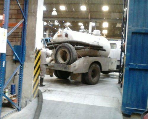 camión mini vactor