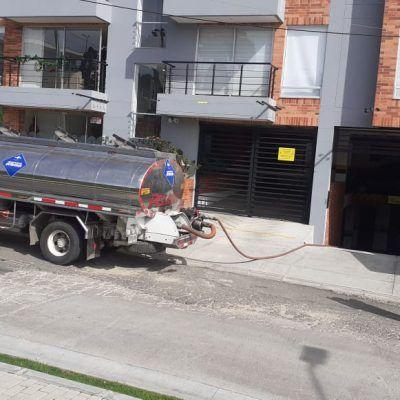 limpieza de trampa grasas edificio